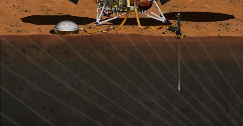 Sonda da Nasa prepara pouso em Marte para missão sísmica inédita