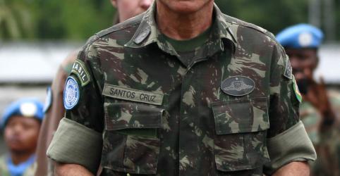 Placeholder - loading - Imagem da notícia Bolsonaro anuncia general Santos Cruz para Secretaria de Governo