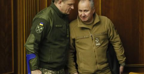 Ucrânia diz que agente de inteligência foi ferido em confronto com Rússia no domingo