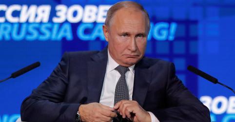 Placeholder - loading - Putin diz que espera se encontrar com Trump na cúpula do G20 na Argentina