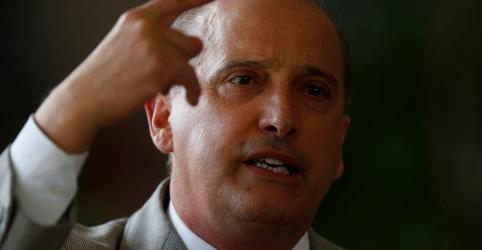 Placeholder - loading - Imagem da notícia Onyx diz que governo Bolsonaro tem como princípio reduzir tamanho do Estado