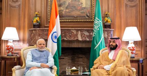 Placeholder - loading - Imagem da notícia Príncipe saudita encontra líder da Índia no G20 e planeja mais investimentos