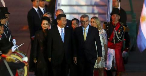 Placeholder - loading - Imagem da notícia Brics criticam protecionismo durante G20 em meio à disputa entre China e EUA