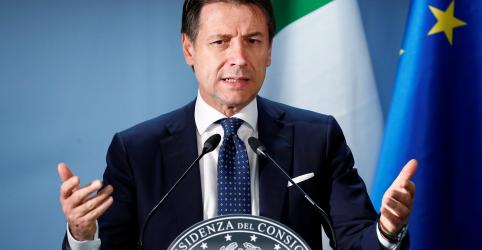 Premiê da Itália elogia acordo sobre Orçamento com UE e diz que prioridades do governo foram protegidas