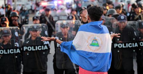 Placeholder - loading - Imagem da notícia Nicarágua expulsa missões da OEA que investigavam protestos violentos no país