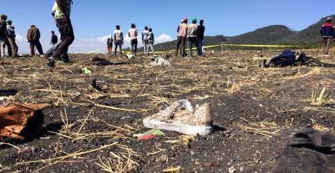 Queda de avião da Ethiopian Airlines mata 157 pessoas