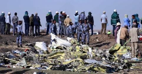 Encontrada caixa-preta de avião da Ethiopian Airlines que caiu no domingo, diz TV estatal