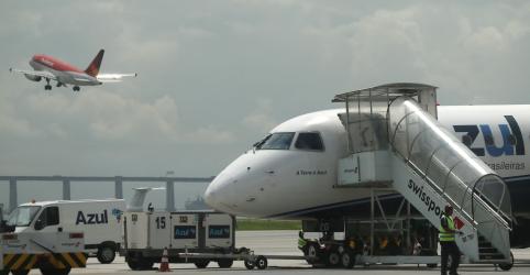 Placeholder - loading - Imagem da notícia Azul vai mais que duplicar presença em Congonhas após acordo com slots da Avianca Brasil