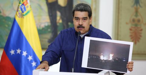Placeholder - loading - Imagem da notícia Venezuela dá prazo de 72 horas para diplomatas dos EUA deixarem país; culpa Trump por blecaute