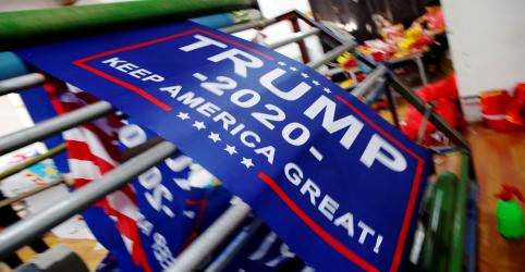 Campanha de reeleição de Trump deve começar por Pensilvânia, Wisconsin e Michigan