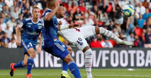 Neymar faz golaço e salva PSG contra Estrasburgo