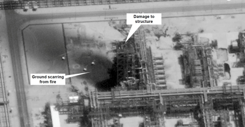 Coalizão liderada pela Arábia Saudita diz que evidências indicam uso de armas iranianas em ataque