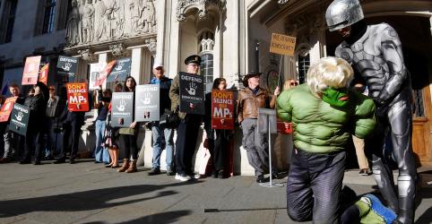 Suprema Corte britânica julga decisão de premiê Johnson de suspender o Parlamento