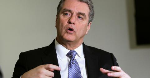 Guerra comercial e ataque saudita são riscos ao crescimento global, diz diretor-geral da OMC
