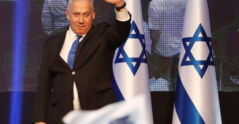 Contagem parcial da eleição de Israel mostra Netanyahu empatado com rival