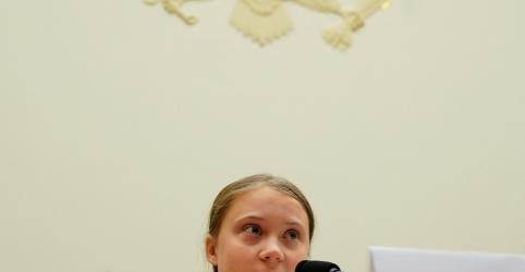 Placeholder - loading - Greta Thunberg diz ao Congresso dos EUA: 'não me escutem, escutem os cientistas'