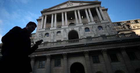 Placeholder - loading - Imagem da notícia BoE mantém juro e alerta que atraso no Brexit prejudicaria crescimento