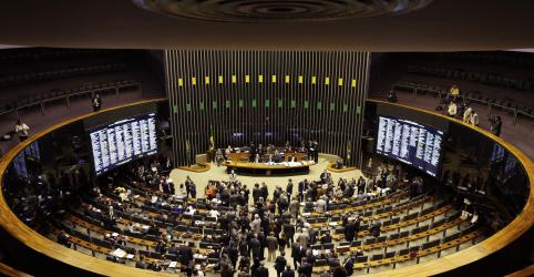 Placeholder - loading - Imagem da notícia Câmara aprova projeto de regras eleitorais que prevê aumento no fundo de campanha