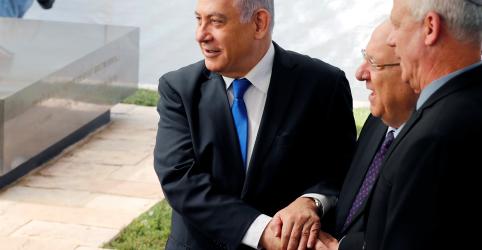 Placeholder - loading - Imagem da notícia Netanyahu busca governo de união com rival Gantz, mas oferta é rejeitada