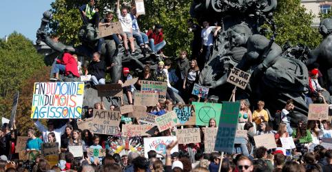 Estudantes cobram comprometimento de líderes mundiais em novo dia de protesto pelo clima