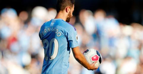 Bernardo Silva faz hat-trick na goleada de 8 X 0 do Manchester sobre o Watford