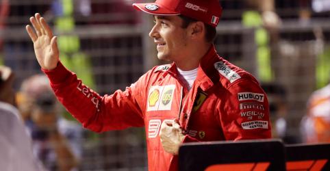 Em Cingapura, Leclerc obtém a 3º pole position seguida