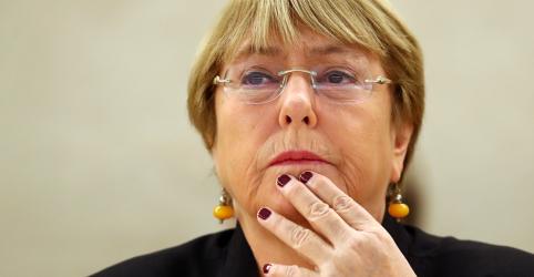 Placeholder - loading - Imagem da notícia Bachelet diz que lamenta pelo Brasil sob comando de Bolsonaro