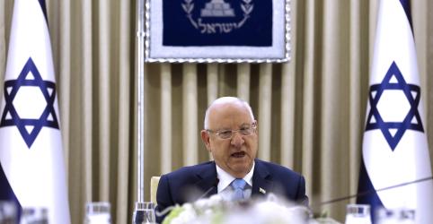 Presidente de Israel busca governo de união entre Netanyahu e Gantz