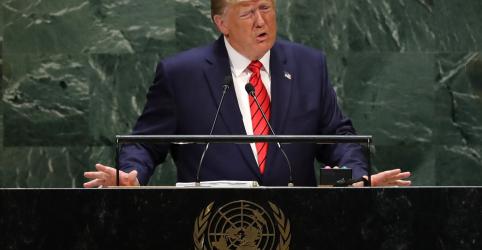 Trump acusa Irã de ter 'sede de sangue' em discurso na ONU, mas fala em caminho para paz