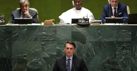 Placeholder - loading - Imagem da notícia Discurso agressivo de Bolsonaro na ONU não altera posição difícil do Brasil no exterior