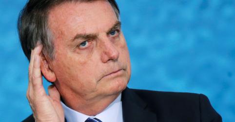 Placeholder - loading - Imagem da notícia Bolsonaro critica eventual iniciativa do STF de validar mensagens vazadas da Lava Jato