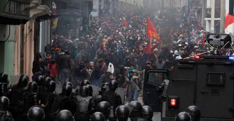 Equador prende quase 370 pessoas em dois dias de protestos antiausteridade