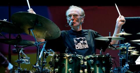 Ginger Baker, baterista do grupo Cream na década de 60, morre aos 80 anos