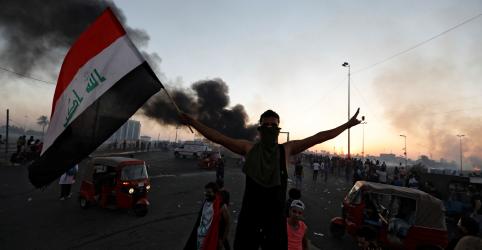 Placeholder - loading - Protestos no Iraque deixam ao menos 18 mortos e governo apresenta novas promessas de reformas