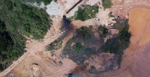 PF e forças de segurança de Mato Grosso fecham garimpo ilegal