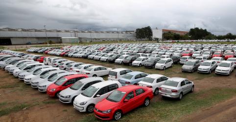 Produção e vendas de veículos no Brasil caem em setembro ante agosto