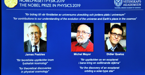 Placeholder - loading - Descobertas sobre planetas distantes e infância do universo ganham Nobel de Física