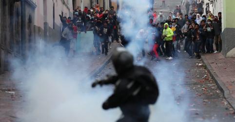 Placeholder - loading - Imagem da notícia Governo do Equador aceita ajuda da ONU e decreta toque de recolher para apaziguar protestos