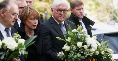 Placeholder - loading - Imagem da notícia Alemanha precisa proteger judeus, diz presidente após ataque a sinagoga