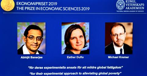 Pioneiros na luta contra a pobreza vencem o Nobel de Economia de 2019