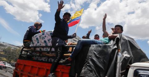 Presidente do Equador diz que revogará dentro de horas decreto que acabou com subsídios a combustíveis