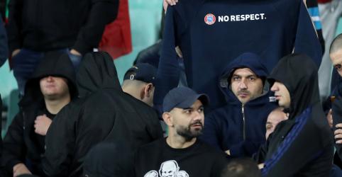 Placeholder - loading - Imagem da notícia Chefe do futebol búlgaro renuncia após ofensas raciais durante partida contra Inglaterra