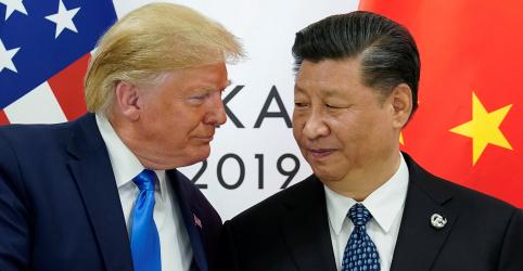 Trump diz que não deve assinar acordo comercial com a China até se reunir com Xi