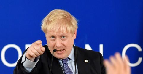 Johnson se diz confiante de que parlamentares britânicos apoiarão acordo do Brexit