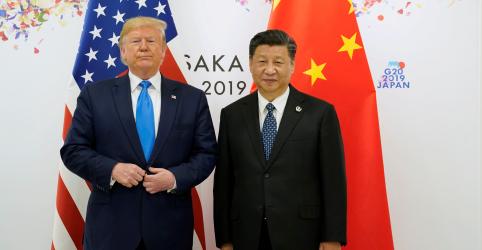 Trump espera que acordo EUA-China seja assinado até meados de novembro