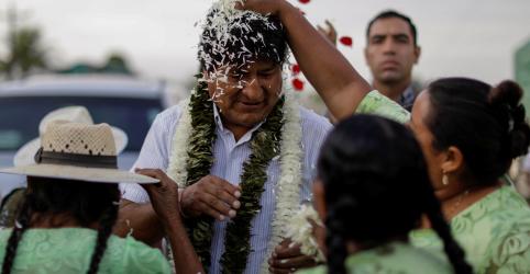 Evo se diz confiante em reeleição na Bolívia apesar de possível 2º turno