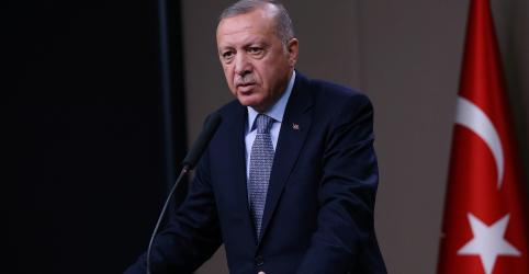 Placeholder - loading - Imagem da notícia Turquia retomará ataque na Síria se EUA não cumprirem promessas, diz Erdogan