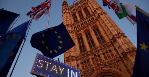 Placeholder - loading - Premiê britânico Boris Johnson consegue primeira vitória em votação do Brexit no Parlamento