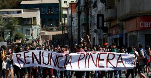 Oposição do Chile se recusa a falar com presidente; novos protestos irrompem