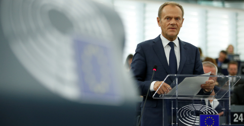 Tusk diz que recomendará prorrogação de prazo para o Brexit
